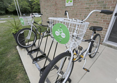 Korman Residential - Willow Shores Bike Share Program